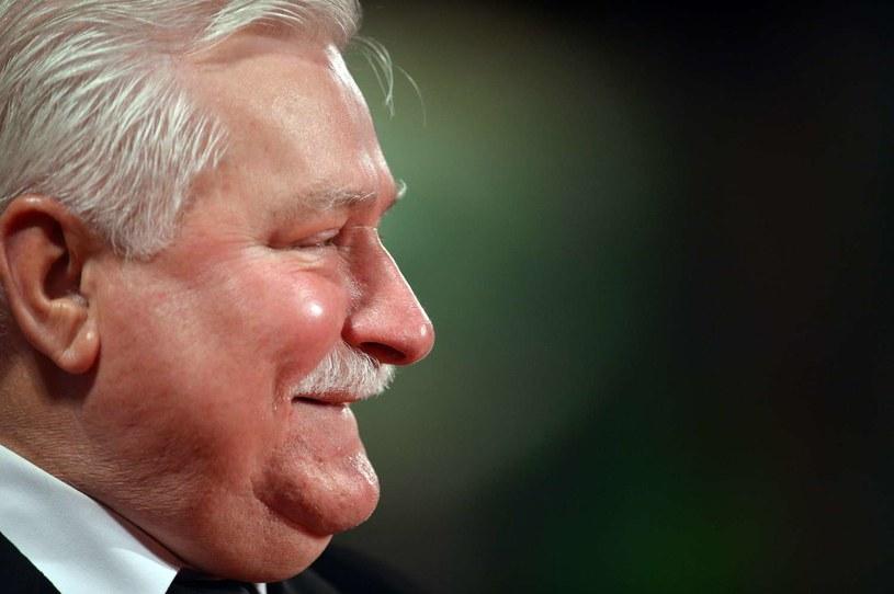 Lech Wałęsa w niedzielę kończy 70 lat /AFP