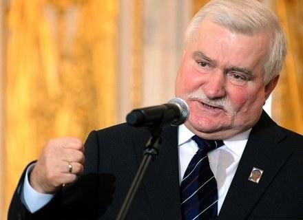 Lech Wałęsa walczy z IPN /AFP