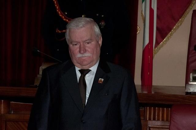 Lech Wałęsa /Kikapress/Lucio Ganci    /PAP