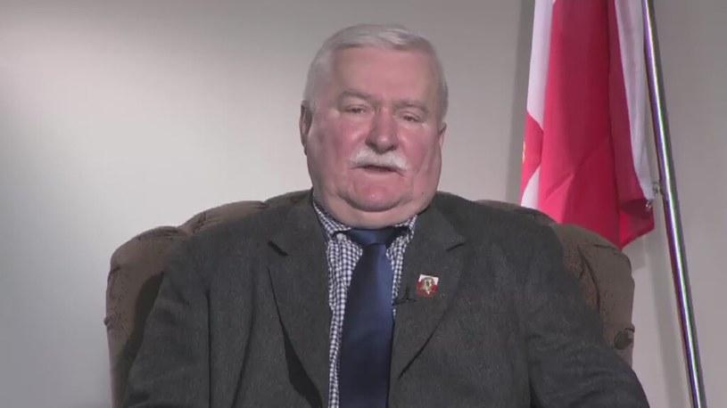 Lech Wałęsa /TVN24/x-news