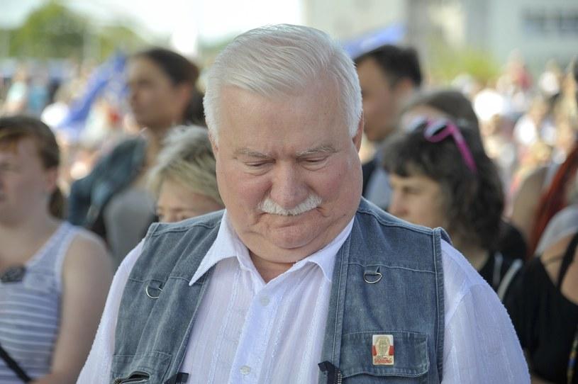 Lech Wałęsa /Wojciech Strozyk/REPORTER /East News