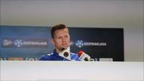 Lech - Wisła. Matusz Putnocky przed meczem. Wideo