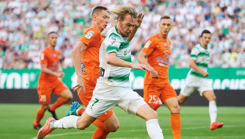 Lechia Gdańsk - Bruk-Bet Termalica Nieciecza 1-2 w 7. kolejce Lotto Ekstraklasy