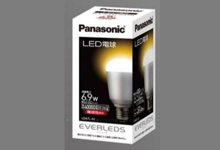 LED-owa żarówka produkcji Panasonic - czy rzeczywiście wytrzyma 19 lat /materiały prasowe