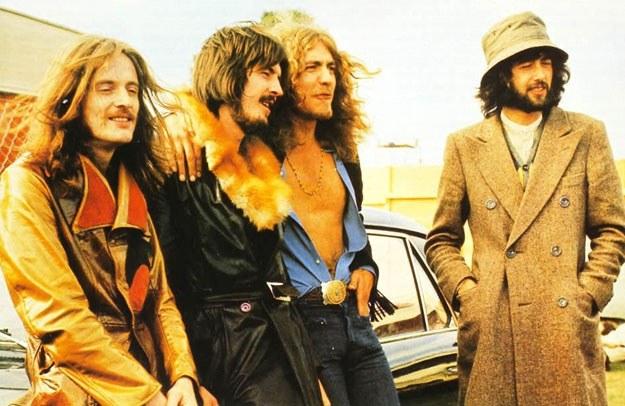 Led Zeppelin: Gdyby tylko wiedzieli, po ile będą szły ich koszulki... /