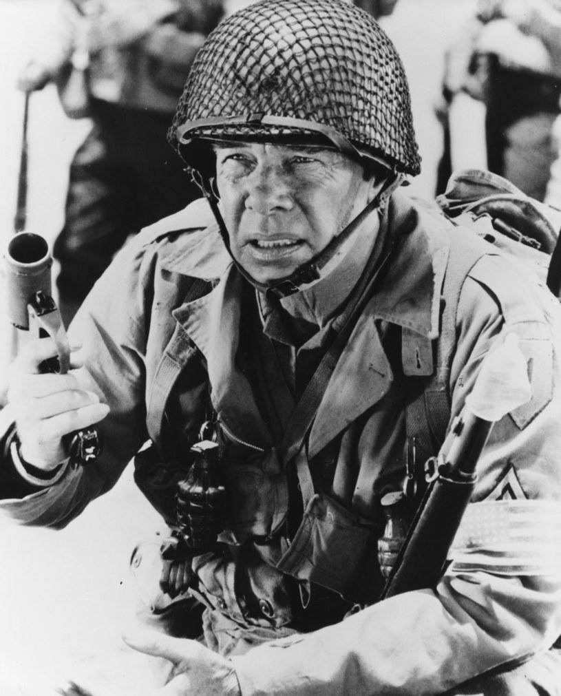 """Lee Marvin w filmie """"Wielka czerwona jedynka"""" /Keystone / Stringer /Getty Images"""