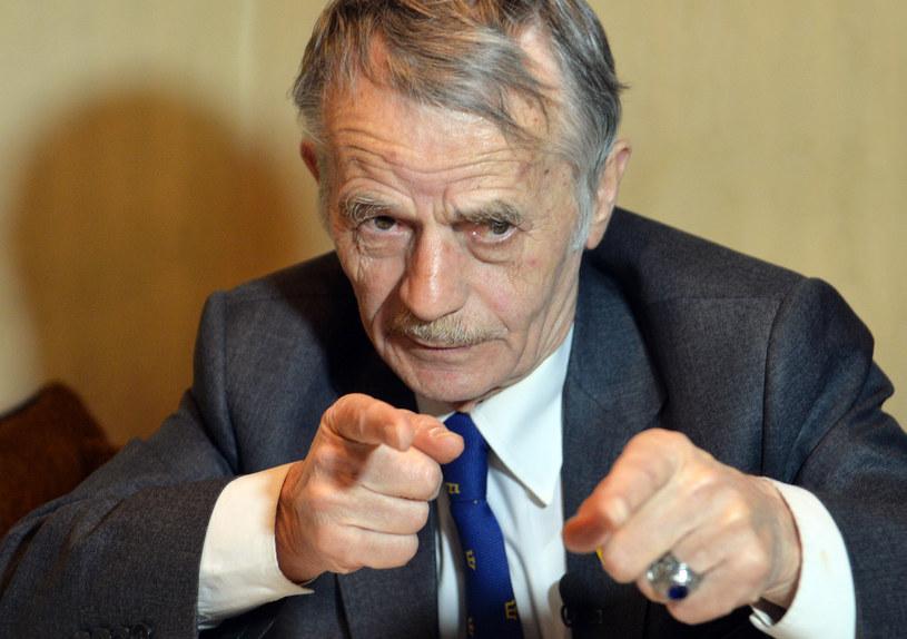 Legendarny przywódca Tatarów krymskich Mustafa Dżemilew /AFP
