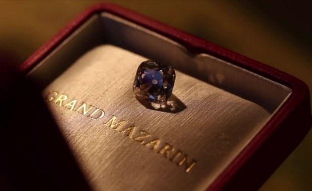 """Legendarny różowy brylant """"Le Grand Mazarin"""" na aukcji. Może pójść za 5 mln dolarów"""