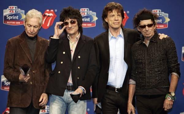 Legendarny zespół The Rolling Stones wystąpi w przerwie meczu /AFP