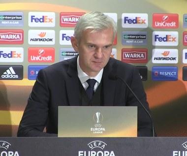 Legia - Ajax 0-0. Jacek Magiera ocenił mecz. Wideo