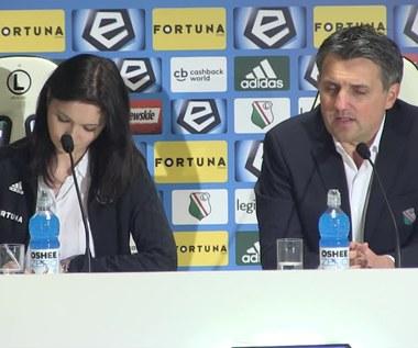 Legia - Bruk-Bet Termalica 3-0. Romeo Jozak: Na naszym stadionie musimy rządzić (wideo)