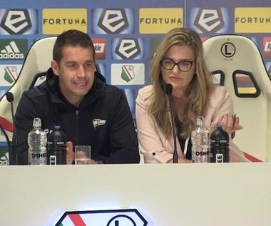 Legia - Lechia 1-0. Adam Owen po meczu