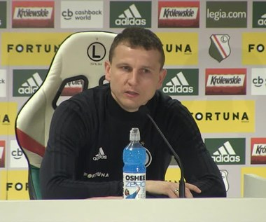 Legia. Maciej Dąbrowski: Jestem zawzięty. Wideo