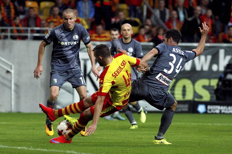 Legia ostatnio przegrała z Jagiellonią 0-1 /Fot. Artur Reszko /PAP