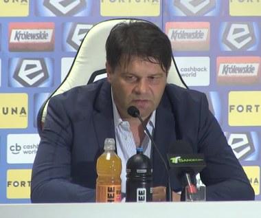 Legia - Sandecja 2-0. Radosław Mroczkowski: Gratuluję Legii zwycięstwa, będę kibicował w środę