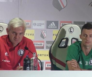 Legia - Sheriff. Jacek Magiera przed meczem. Wideo