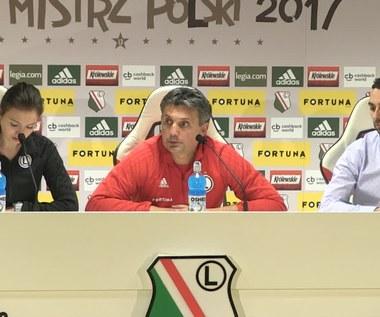 Legia. Trener i dyrektor o ewentualnym odejściu Pazdana. Wideo