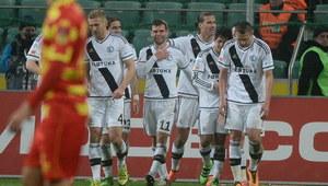 Legia Warszawa - Jagiellonia Białystok 4-0. Kanonada w stolicy