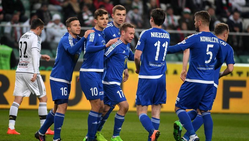 Legia Warszawa - Ruch Chorzów 1-3 w meczu 22. kolejki Ekstraklasy