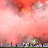 Legia Warszawa ukarana za incydent podczas meczu z Górnikiem Zabrze