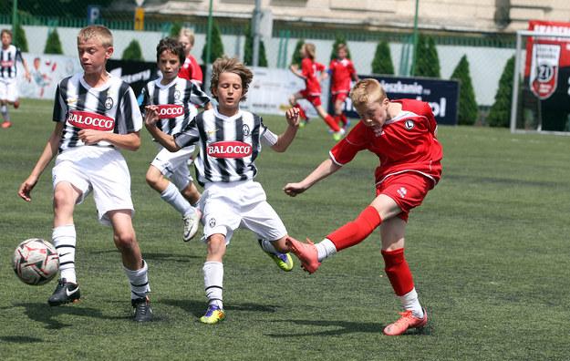 Legia Warszawa w finale pokonał Juventus Turyn /
