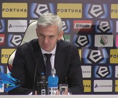"""Legia - Wisła 1-0. Magiera: Nie mamy napastnika? """"Rado"""" by się obraził"""
