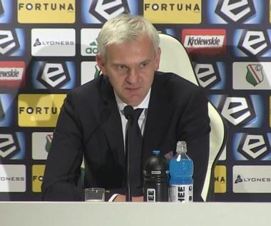 Legia - Wisła 1-1. Magiera: Wisła wyglądała dobrze, zagęściła środek boiska