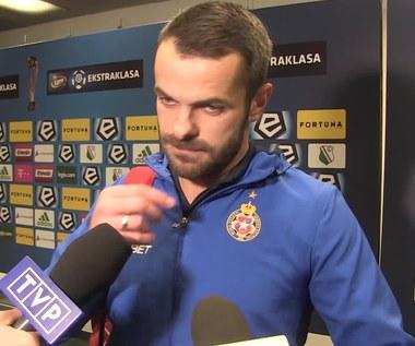 Legia - Wisła 1-1. Paweł Brożek po meczu