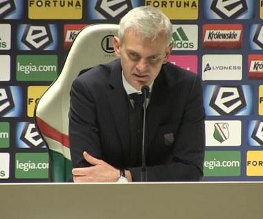 Legia - Wisła Płock 2-2. Magiera: Duży niedosyt