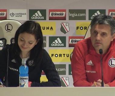 Legia - Wisła Płock. Romeo Jozak przed meczem. Wideo