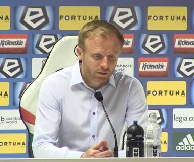 Legia - Zagłębie 2-1. Stokowiec: Pomogliśmy im zdobyć gole. Wideo