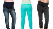 Leginsy, dresy, dżinsy, chinosy – jakie spodnie są najlepsze dla przyszłej mamy?
