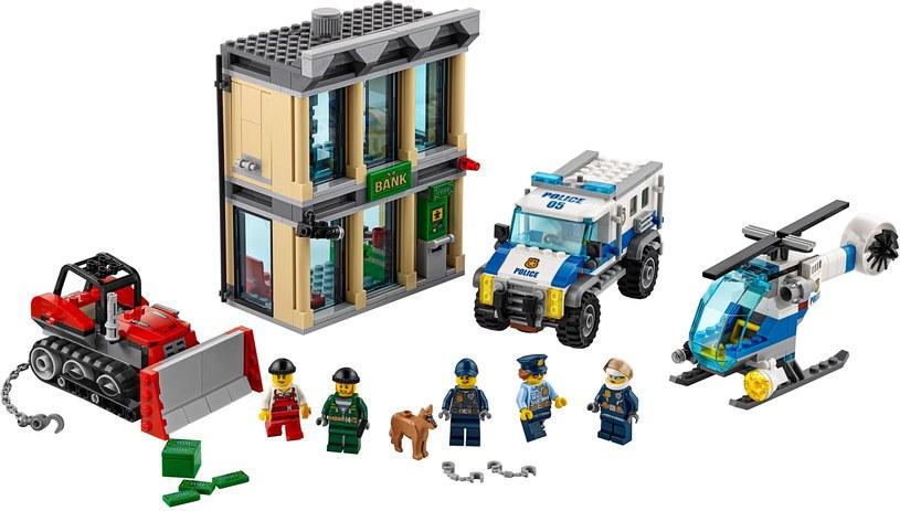 LEGO City 60140 - Włamanie buldożerem /materiały prasowe
