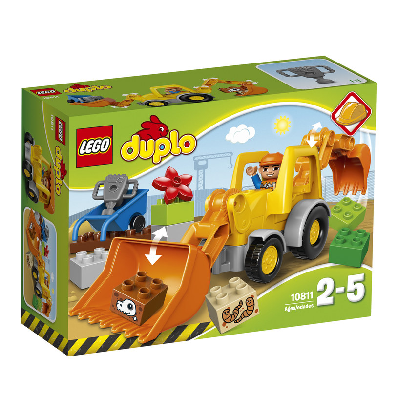 LEGO DUPLO Koparko-ładowarka /materiały prasowe