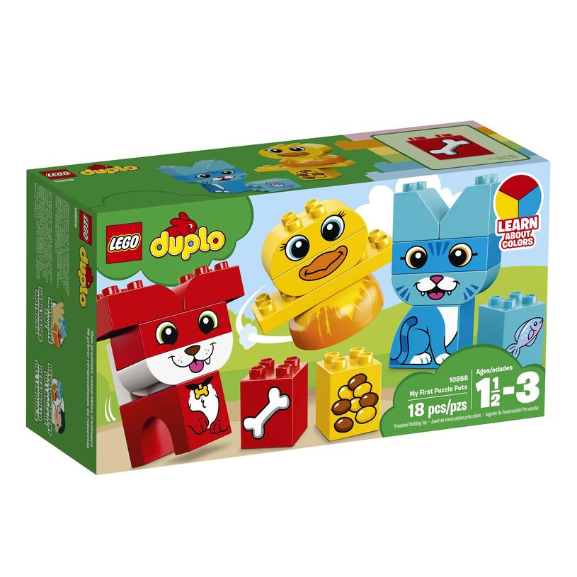 LEGO DUPLO Moje pierwsze zwierzątka /INTERIA.PL/materiały prasowe