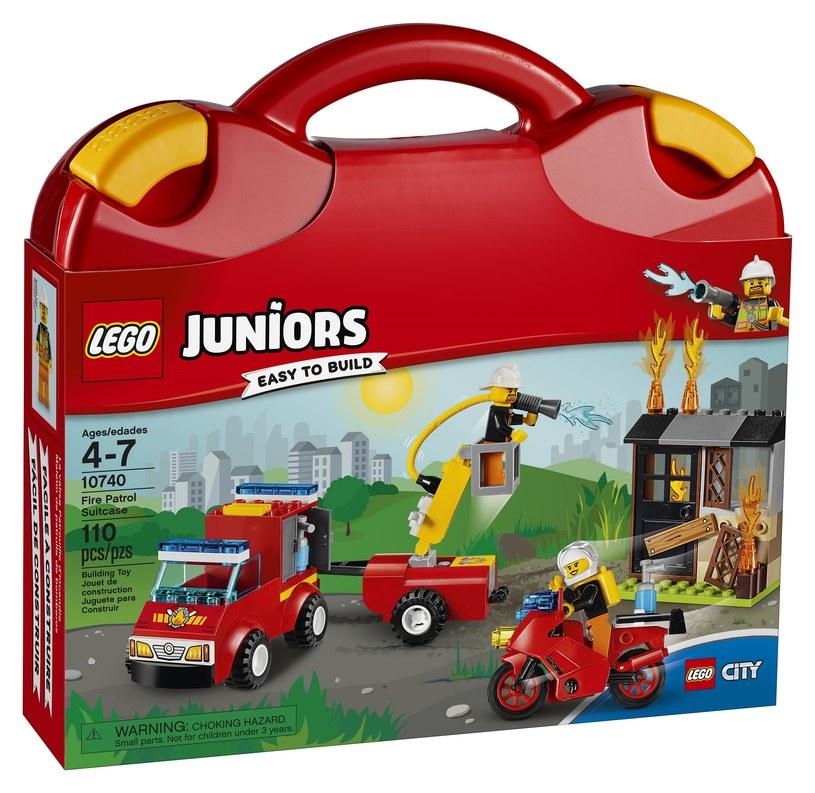 LEGO Juniors - Patrol strażacki /materiały prasowe