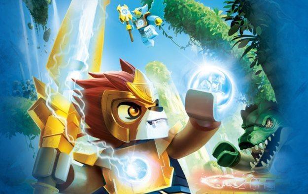 LEGO Legends of Chima - motyw graficzny /
