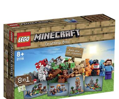 LEGO Minecraft: Kolekcja na specjalne życzenie fanów LEGO i Minecrafta