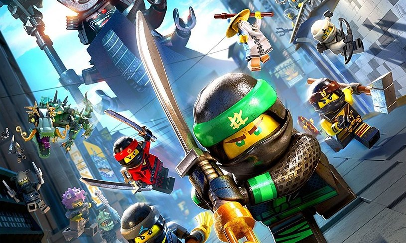 LEGO Ninjago Movie - Gra wideo /materiały prasowe