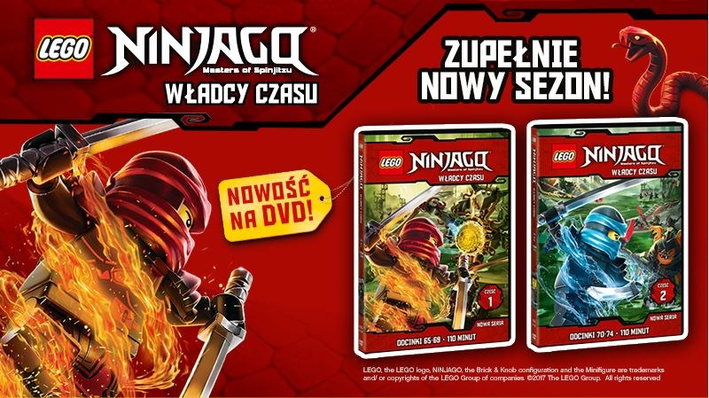 LEGO Ninjago - Władcy Czasu - część 1 i 2 /materiały prasowe