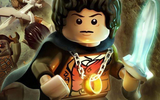 Lego The Lord of the Rings - motyw graficzny /Informacja prasowa