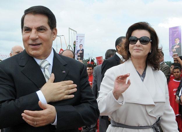 Leila Ben Ali zadbała o przyszłość finansową swoją i męża /AFP