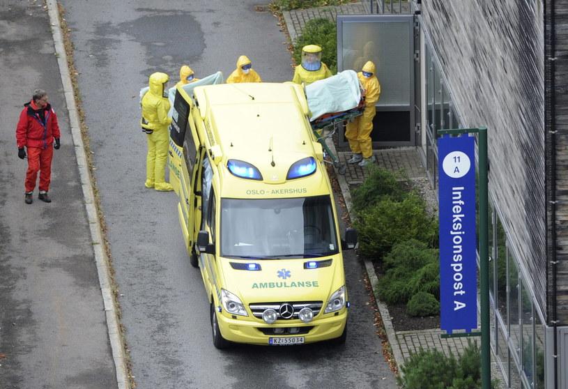 Lekarka została we wtorek przywieziona do Oslo /ERJE PEDERSEN /PAP/EPA