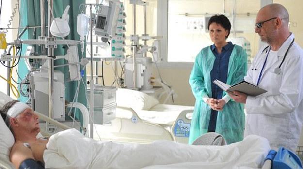 Lekarz przekaże Marii złe wieści /www.mjakmilosc.tvp.pl/