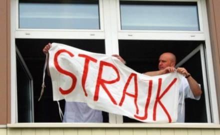 Lekarze strajkują od 21 maja / fot. K. Oremus /Agencja SE/East News