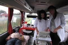 Lekarze wyszli na drogi: Sprawdzali serca kierowców
