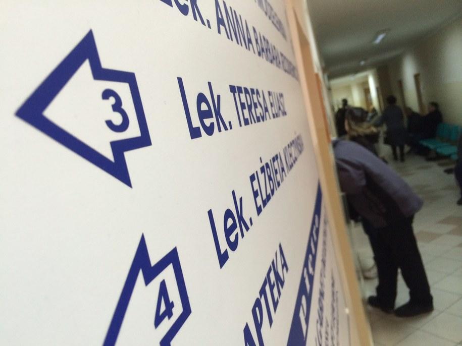 Lekarze z PZ po kilkudniowej przerwie otworzyli swoje gabinety /Piotr Bułakowski /RMF FM