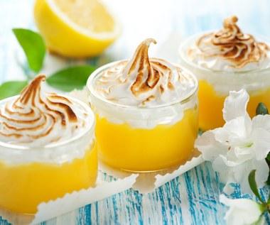 Lekki deser  cytrynowy