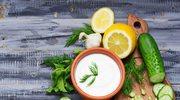 Lekkie sosy z jogurtem