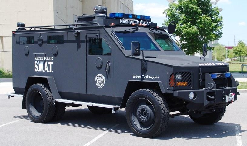 Lenco BearCat wykorzystywany przez SWAT w Nashville /Wikipedia